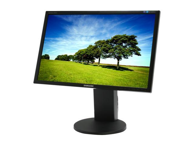 "SAMSUNG SyncMaster 2443BW Black 24"" 5ms Widescreen LCD Monitor"
