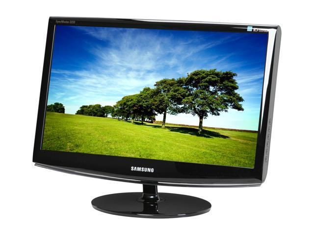 "SAMSUNG SyncMaster 2233SW High Glossy Black 21.5"" 5ms Widescreen LCD Monitor"