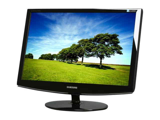 """SAMSUNG SyncMaster 2433BW High Glossy Black 24"""" 5ms Widescreen LCD Monitor"""