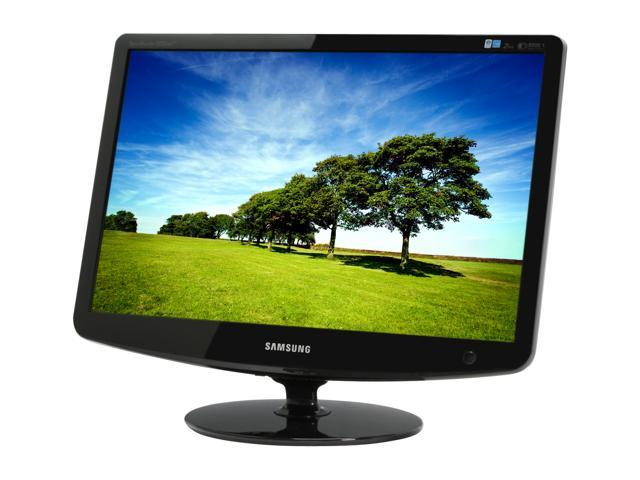"SAMSUNG 2232BW+ Black 22"" 2ms Widescreen LCD Monitor"
