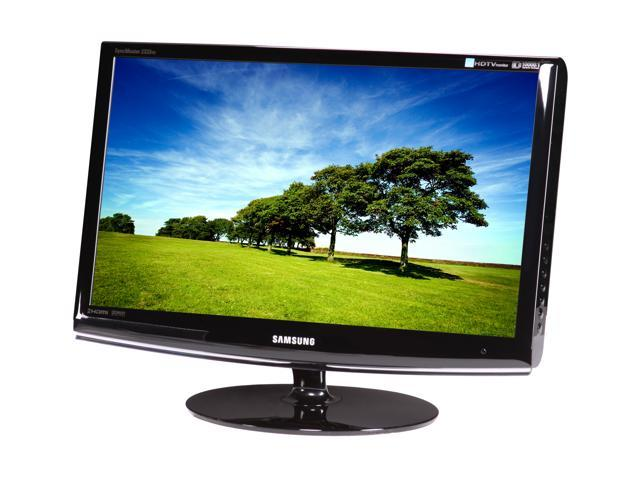 """SAMSUNG 2333HD High Glossy Black 23"""" 5ms Widescreen Full HD LCD Monitor Built-in Speakers"""