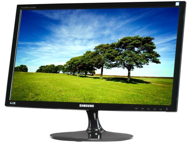 "SAMSUNG S23A300B High Glossy Black 23"" 5ms (GTG) Widescreen LED Backlight LCD Monitor"