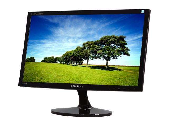 """SAMSUNG S20A300B High Glossy Black 20"""" 5ms Widescreen LED Backlight LCD Monitor"""