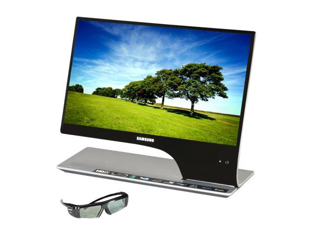 """SAMSUNG T23A950 Black 23"""" 5ms Widescreen LED Backlight LCD Monitor Built-in Speakers"""