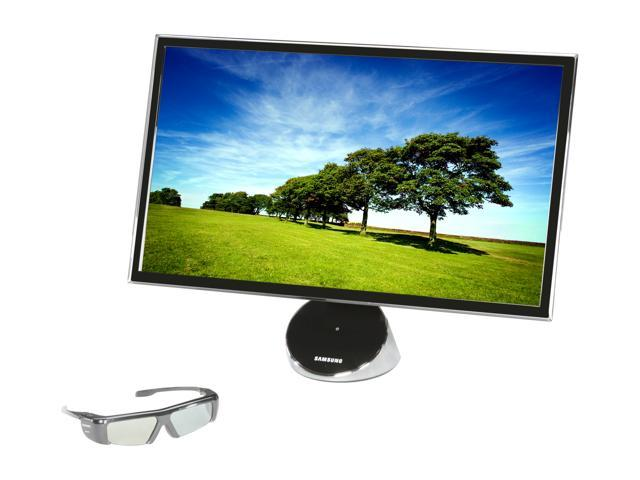 """SAMSUNG T23A750 Black 23"""" 5ms Widescreen LED Backlight LCD Monitor Built-in Speakers"""
