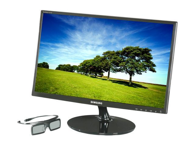 "SAMSUNG S23A700D Black 23"" 2ms Widescreen LED Backlight 3D Capable LCD Monitor"