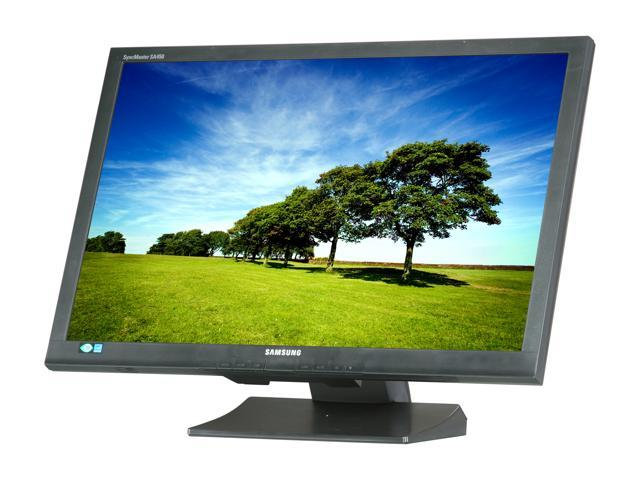 "SAMSUNG S24A450BW-1 Black 24"" 5ms Widescreen LED Backlight LCD Monitor"