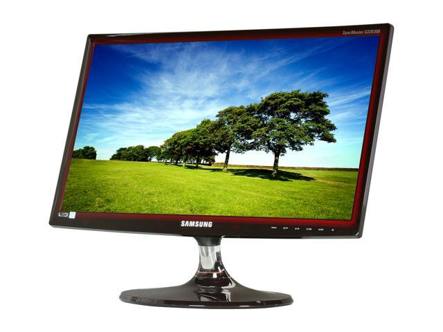 "SAMSUNG B350 Series S22B350H Transparent Red 21.5"" 2ms GTG Widescreen LED Backlight LCD Monitor"