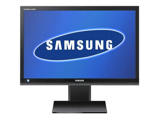 "SAMSUNG SyncMaster S22A450MW Matte Black 22"" 5ms (GTG) Widescreen LED Backlight LCD Monitor Built-in Speakers"