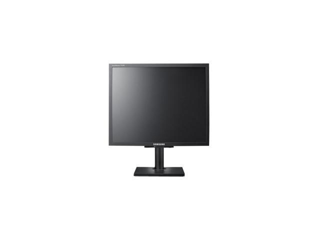 "SAMSUNG NC190 Black 19"" 5ms Height adjustable LCD Monitor 250 cd/m2 1000:1 w/ Integrated PC-over-IP Technology"