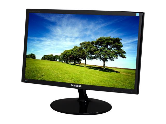 "SAMSUNG LS22A300BS/ZA High Glossy Black 21.5"" 5ms Widescreen LED Backlight LCD Monitor"