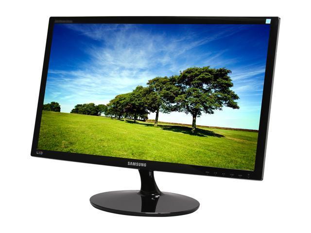 "SAMSUNG LS24A300BS/ZA High Glossy Black 24"" 5ms Widescreen LED Backlight LCD Monitor"