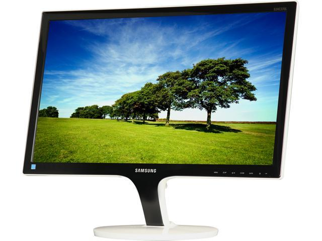 "SAMSUNG C370 S24C370HL High Glossy Black White Stand 23.6"" 5ms Widescreen LED Backlight LCD Monitor"