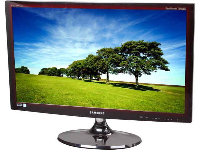 "SAMSUNG TO LT24B350ND 24"" LED Backlight LCD Monitor Built-in Speakers"