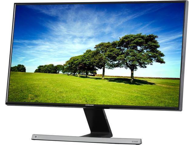 "SAMSUNG SD590 Series S27D590P Black High glossy 27"" 5ms (GTG) Widescreen LED Backlight LCD Monitor PLS Panel"