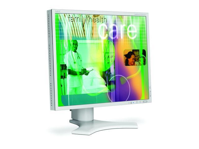 "NEC Display Solutions MultiSync LCD1990SXi White 19"" 18ms LCD Monitor"