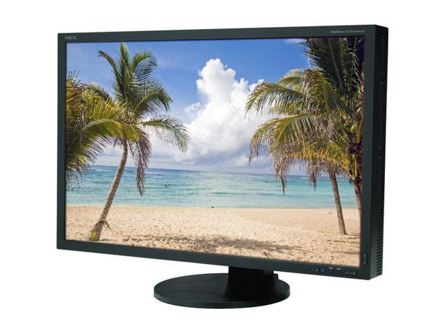 NEC Display Solutions LCD3090WQXi-BK Black 30