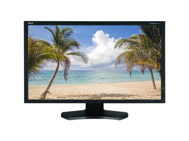 """NEC Display Solutions PA231W-BK Black 23"""" 8ms GTG Widescreen LCD Monitor"""
