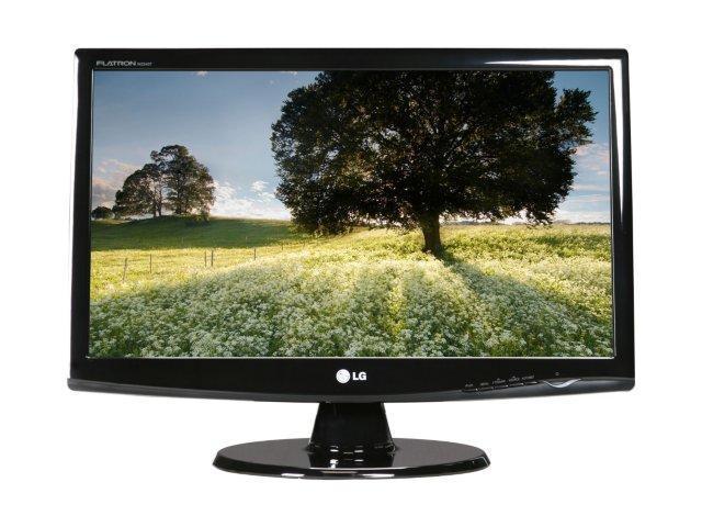 """LG W2343T-PF Black 23"""" 5ms Widescreen Full HD 1080p LCD Monitor"""