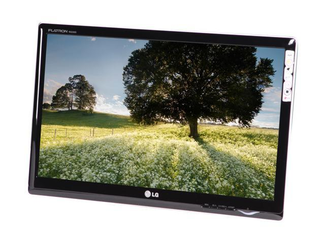 """LG W2230S Glossy Black 21.5"""" 5ms Widescreen LCD Monitor"""