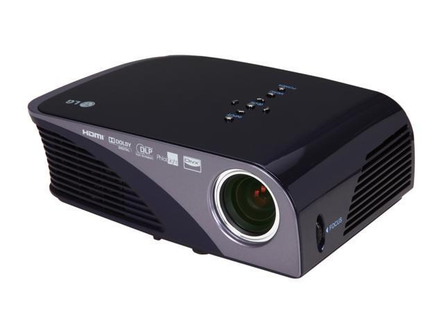 Lg hs200g svga 800 x 600 200 ansi lumens led lamp mini dlp for Pocket projector case