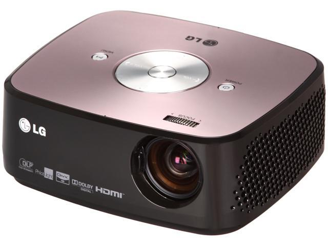 LG HX350T 1024 x 768 DLP Micro Portable LED Projector With Built-in TV Tuner