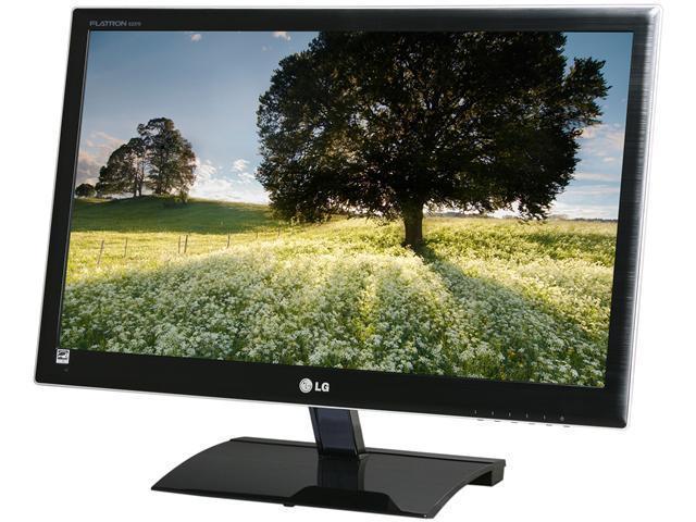 """LG E2370V-BF Black 23"""" 14ms Widescreen LED Backlight LED BackLight LCD Monitor"""