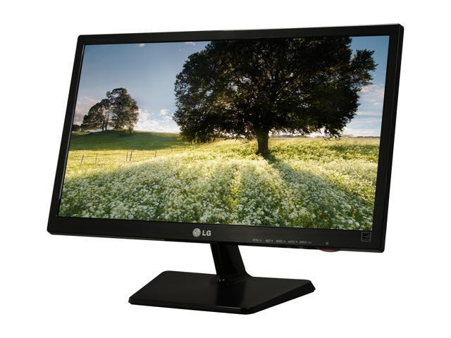 "LG E2242T-BN Black 21.5"" 5ms Widescreen LED Backlight LCD Monitor"