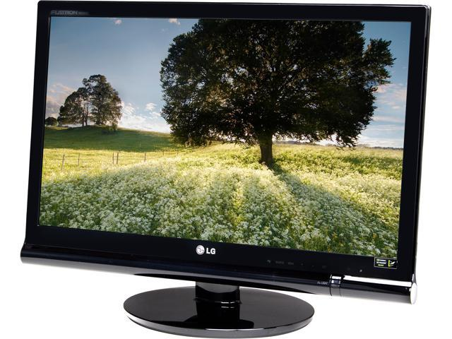"LG W2363D-PU Black 23"" 3ms Widescreen 120Hz 3D Desktop LCD Monitor Built-in Speakers"