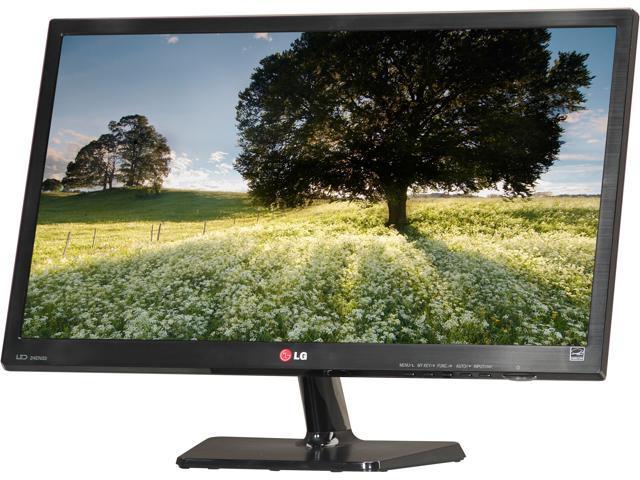 "LG 24EN33TW-B Black 23.6"" 5ms Widescreen LED Backlight LCD Monitor"