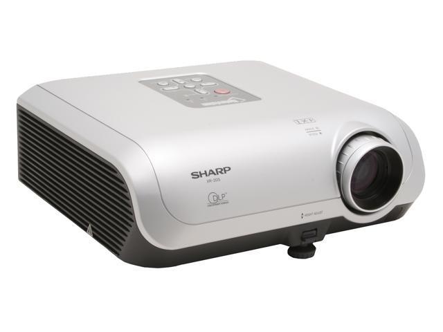 SHARP XR-20S 800 x 600 2300 ANSI Lumens Standard Mode; 2000 ANSI Lumens Low Power Mode DLP Projector