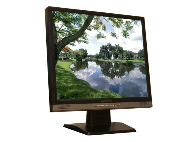 """PRINCETON LCD1950 Black 19"""" 8ms LCD Monitor Built-in Speakers"""