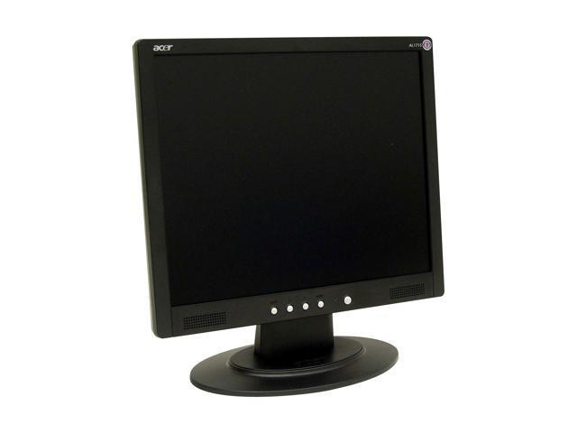"Acer AL1715pbm Black 17"" 20ms LCD Monitor Built-in Speakers"