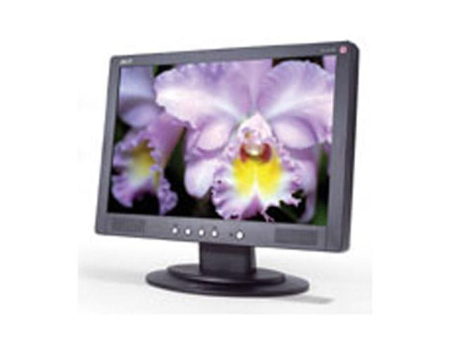"""Acer AL1913W Black 19"""" 20ms Widescreen LCD Monitor Built-in Speakers"""