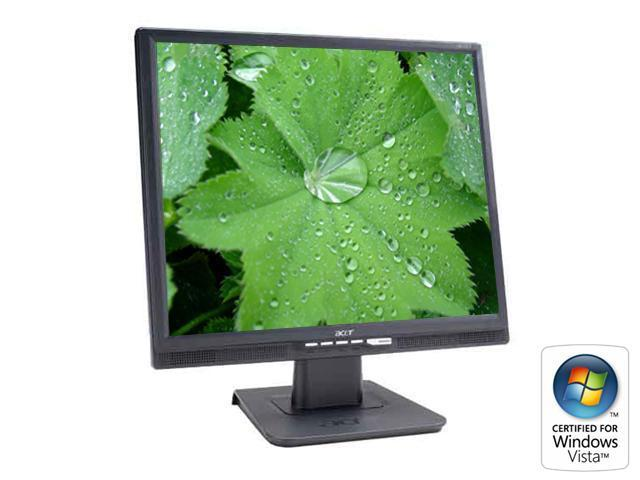 "Acer AL1917ABMD Black 19"" 8ms LCD Monitor Built-in Speakers"