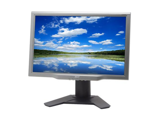 "Acer AL2423Wdr Silver/Black 24"" 6ms (GTG) Widescreen LCD Monitor with Height Adjustments Built-in Speakers"