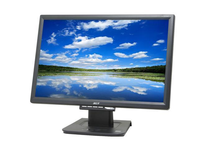 "Acer AL1916WAbd Black 19"" 5ms Widescreen LCD Monitor"