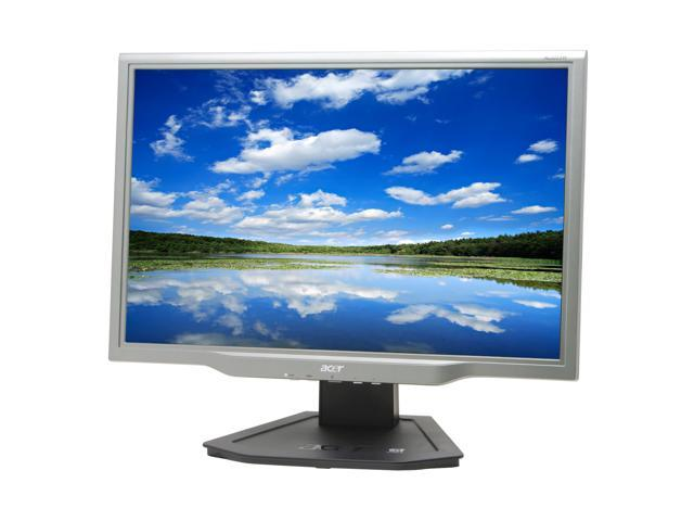 """Acer AL2223Wd Black-Silver 22"""" 5ms Widescreen LCD Monitor with HDCP Support Built-in Speakers"""