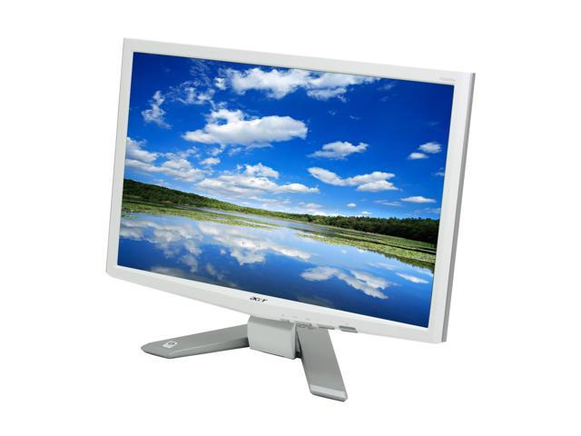 "Acer P223Wwd Glossy White 22"" 5ms Widescreen LCD Monitor"