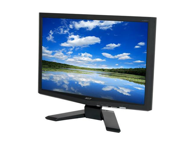 "Acer X193W+BD Black 19"" 5ms Widescreen LCD Monitor"