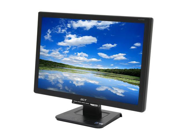 "Acer AL2016WCbd Black 20"" 2ms(GTG) Widescreen LCD Monitor"