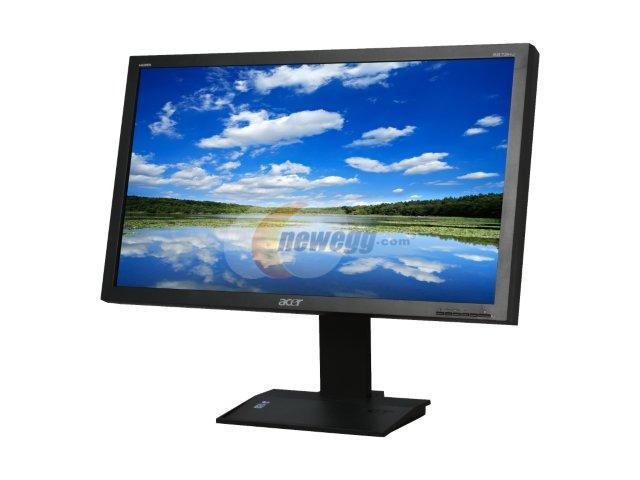 """Acer B273HUbmidhz Black 27"""" 5ms Widescreen LCD Monitor Built-in Speakers"""