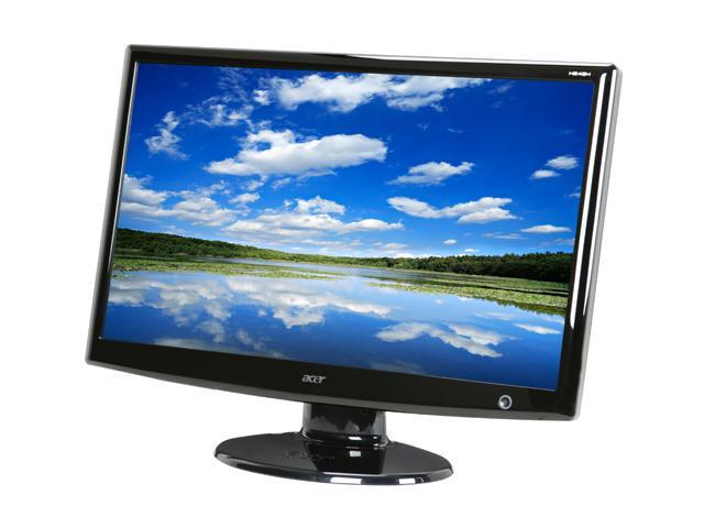 "Acer H243Hbmid Black 24"" 2ms(GTG) Widescreen LCD Monitor Built-in Speakers"