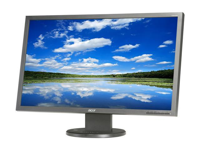 "Acer V243HAJbd (ET.FV3HP.A02) Black 24"" 2ms(GTG) Widescreen LCD Monitor"