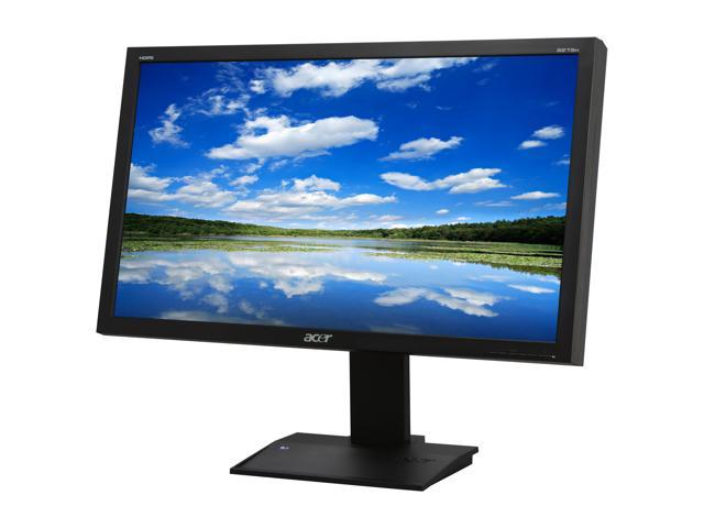 "Acer B273Hbmidhz Black 27"" 5ms Widescreen LCD Monitor Built-in Speakers"