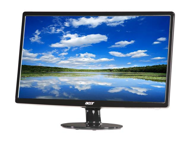 "Acer S211HLbd Black 21.5"" 5ms Widescreen LED Backlight LCD Monitor"