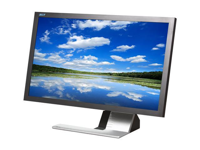 """Acer S273HL bmii (ET.HS3HP.001) Black 27"""" 2ms GTG Widescreen LED Backlight LCD Monitor Built-in Speakers"""