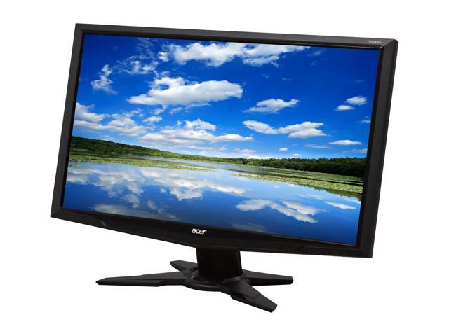 """Acer G245HBbd Black 24"""" 5ms Widescreen LCD Monitor"""