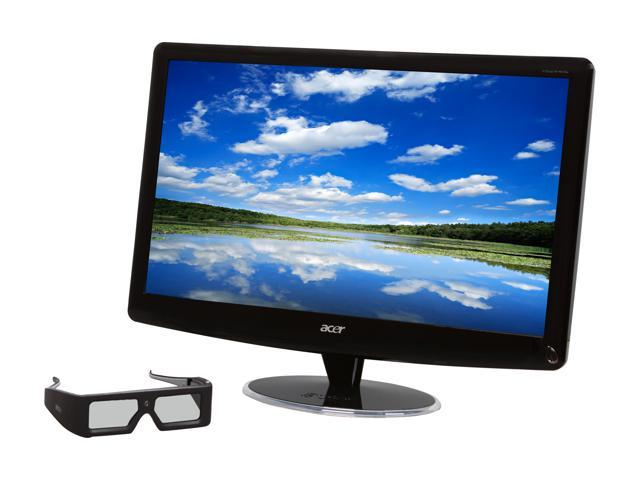 """Acer HS244HQbmii (ET.UH4HP.001) Black 23.6"""" 2ms GTG Widescreen LED Backlight LCD Monitor Built-in Speakers"""