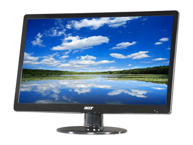 Acer S220HQLAbd  Black 21.5